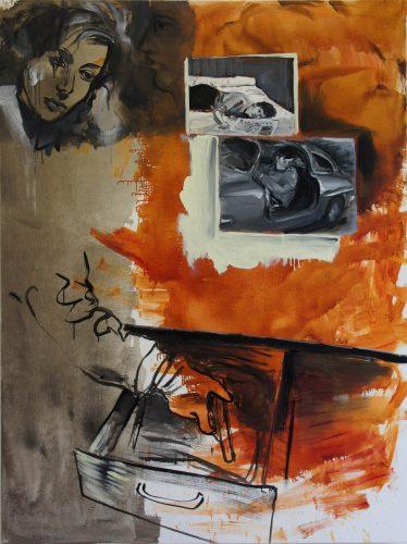 Crime Passionnel, 2013, 160x120 cm