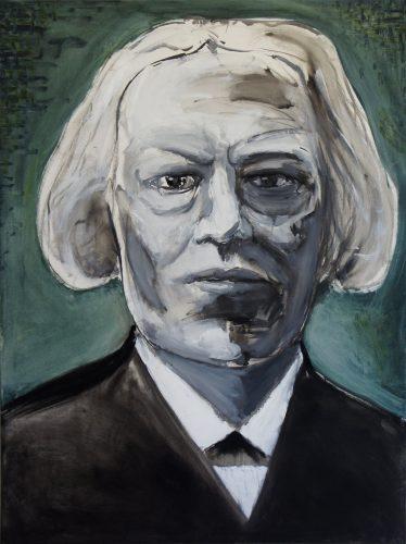 Portrait of an unknown man, 2013, 120x90 cm