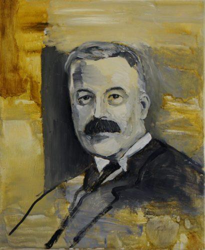 Portrait of an unknown man, 2013, 55x45 cm