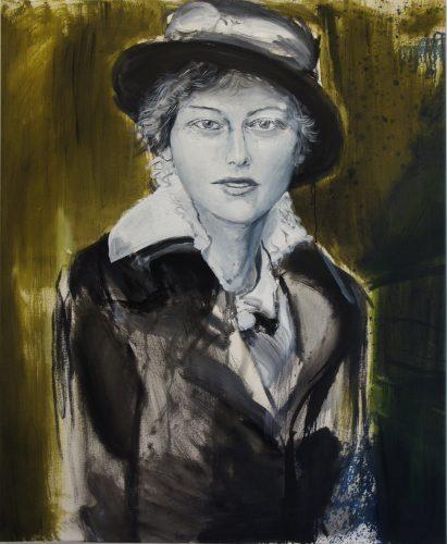 Portrait of an unknown woman, 2013, 110x90 cm