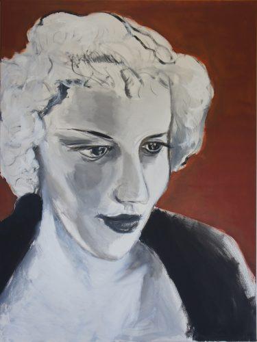 Portrait of an unknown woman, 2013, 120x90 cm