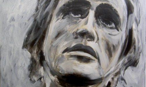 Marlon Brando, 2000, 80x100 cm