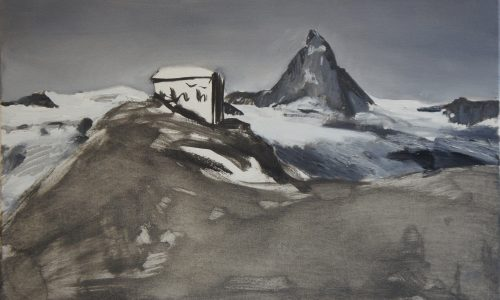 Gornergrat Panorama (detail), 1996, 45x450cm